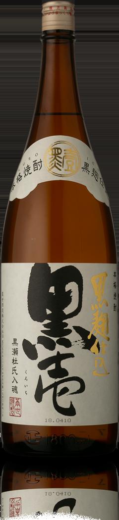 芋焼酎 黒壱 1.8l